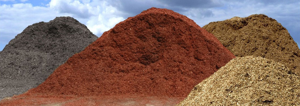 Suburban Garden Landscape Mulch Supply