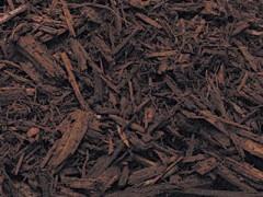 Walnut Brown Mulch - Color Enhanced Mulch Wood Chips