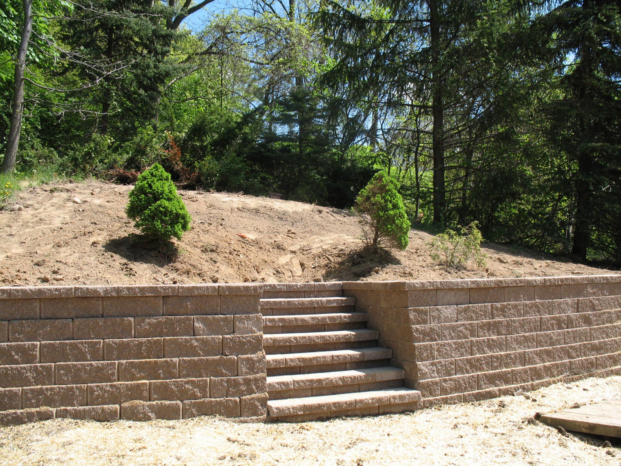 Landscape Architect Retaining Wall : Retaining walls j s landscapingj landscaping