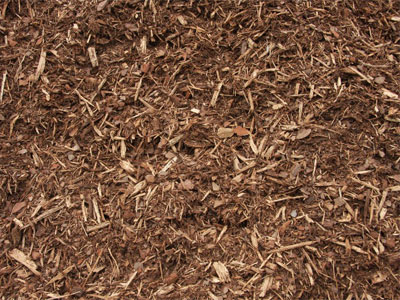 Hardwood Mulch - Premium Double Shredded Wood Chips