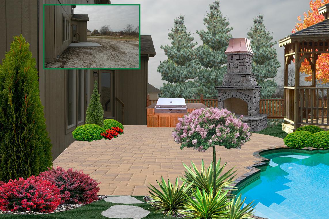 3d landscape design j s landscapingj s landscaping - 3d garten designer ...