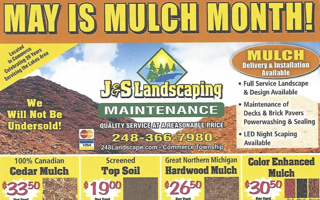 May is Mulch Month